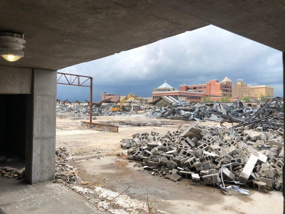 Wausau Center Mall Demolition 1