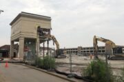 Remainder of Wausau Center Mall Will Come Down This Week