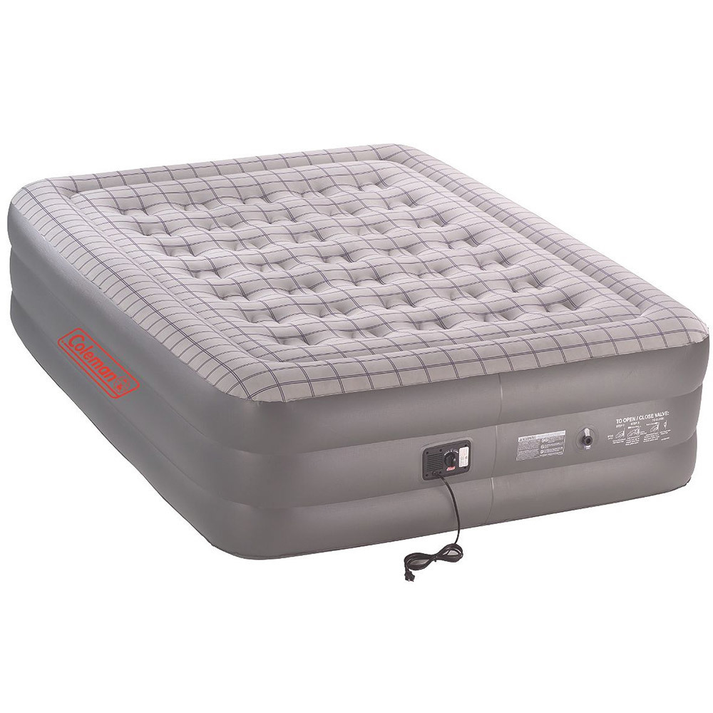 Coleman Quickbed Double High Queen Air Bed with Pump