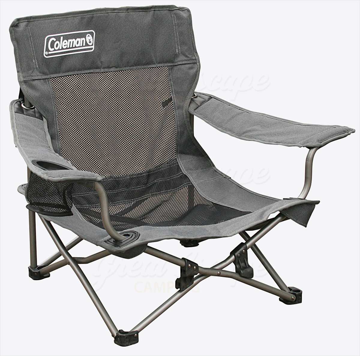 coleman camping oversized quad chair with cooler garden glider covers deluxe mesh event great escape