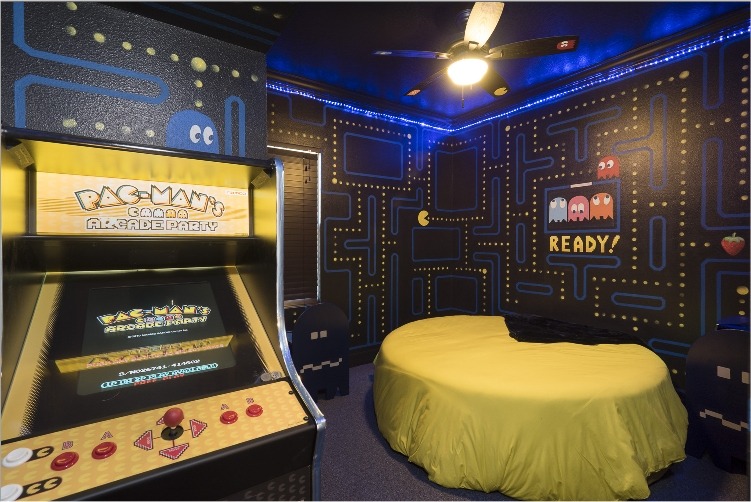 The PacMan Bedroom at The Great Escape Lakeside