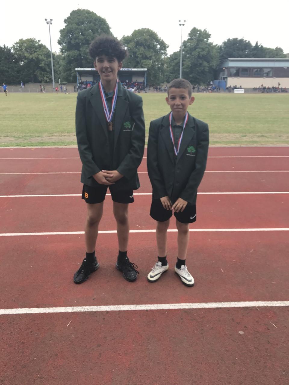 Greatfields School Success At Borough Athletics
