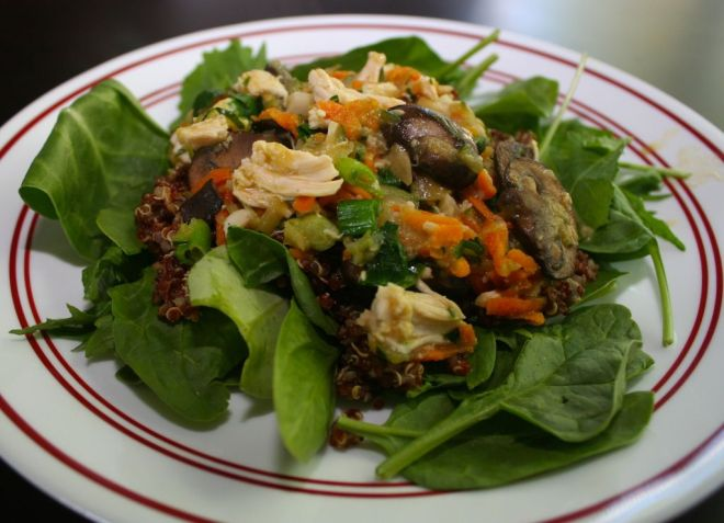 Gluten Free Quinoa Main Dish