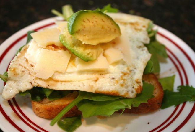 Gluten Free Egg Sandwich
