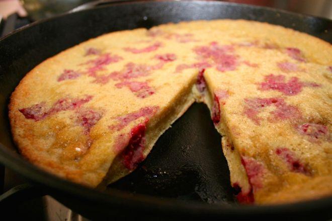 Oven Pancake Sliced