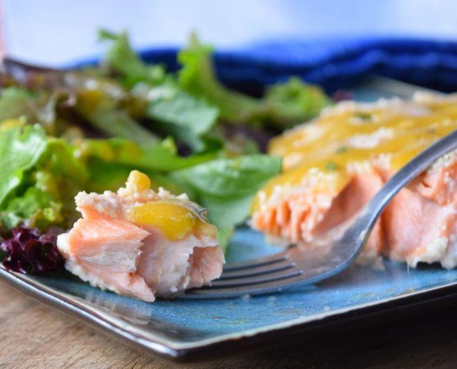 Gluten Free Crusted Salmon
