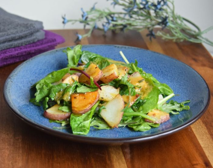 Potatoes with Greens