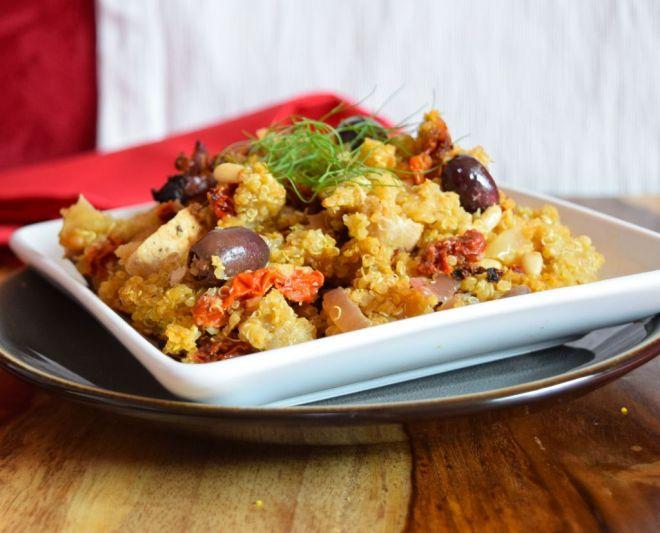 Fennel Quinoa