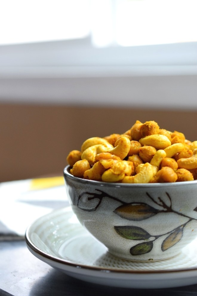 Curry Roasted Chickpeas