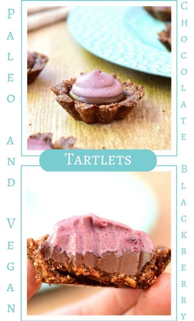 Vegan chocolate tarts