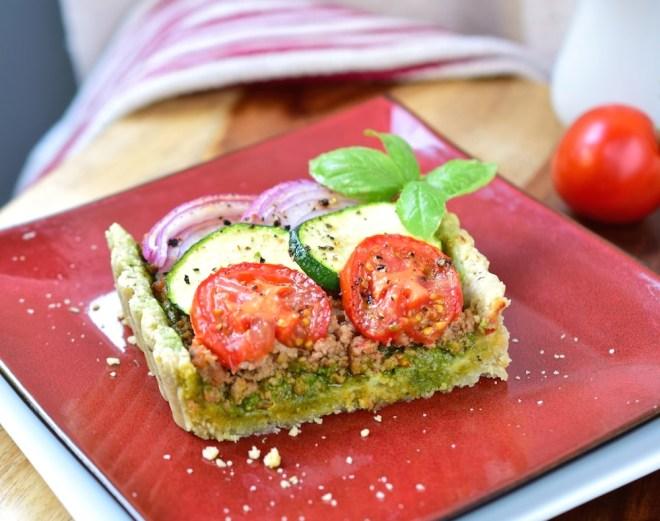 Paleo Savory Italian Tart