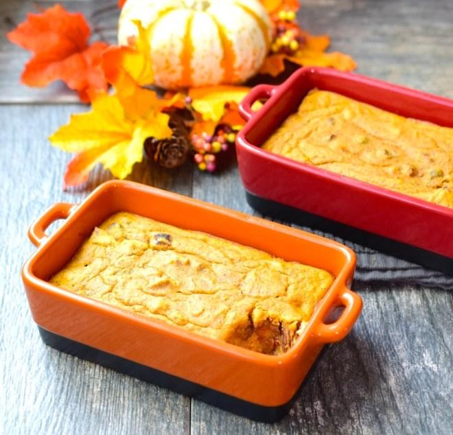 Gluten Free Pumpkin Bake