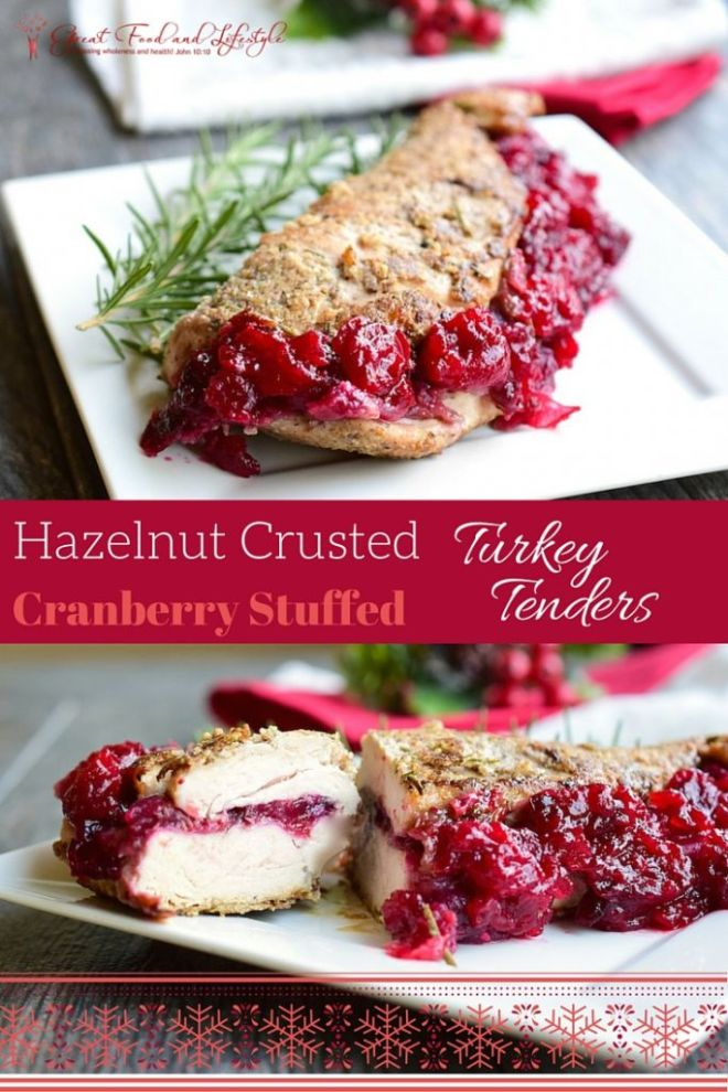 Cranberry Stuffed Turkey Tenders