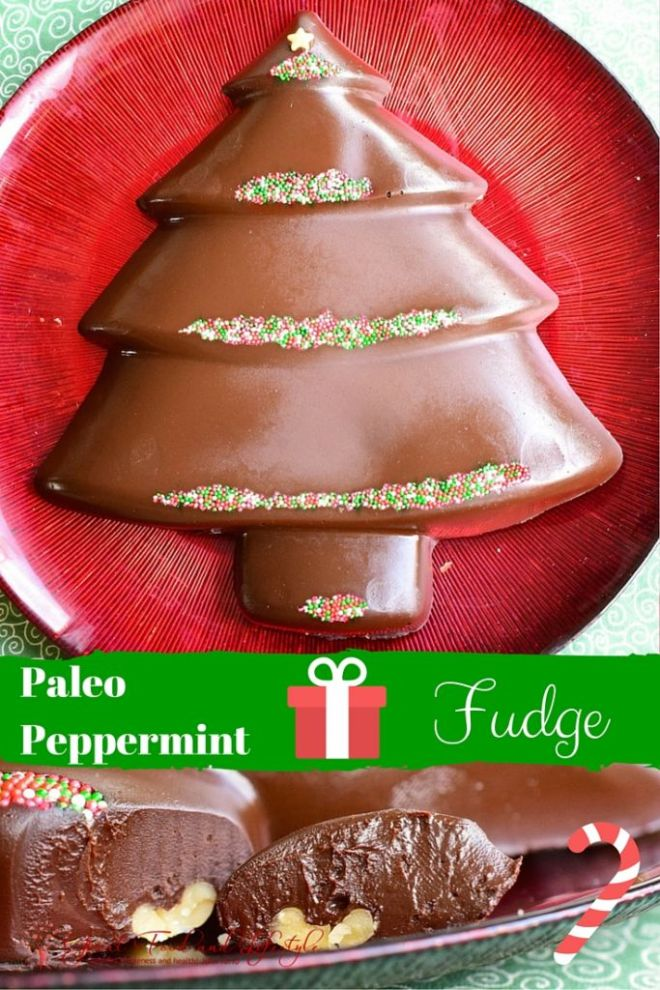 Paleo Peppermint Fudge
