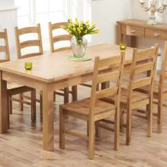 Inexpensive Kitchen Table Sets Zinc Top Island Dining The Great Furniture Trading Company Oak