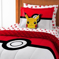 Pokemon Bed In A Bag: Pokmon Comforter, Sheets and PIllow ...