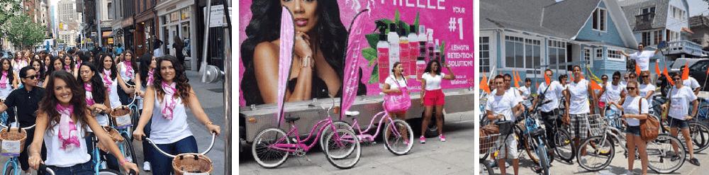 bike brigade experiential marketing