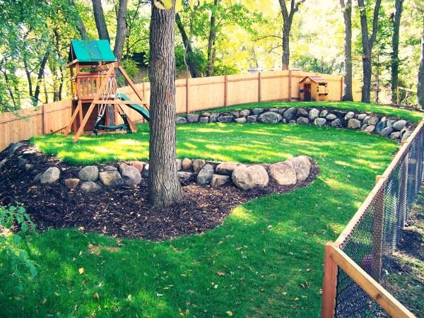 kid-friendly landscape design ideas