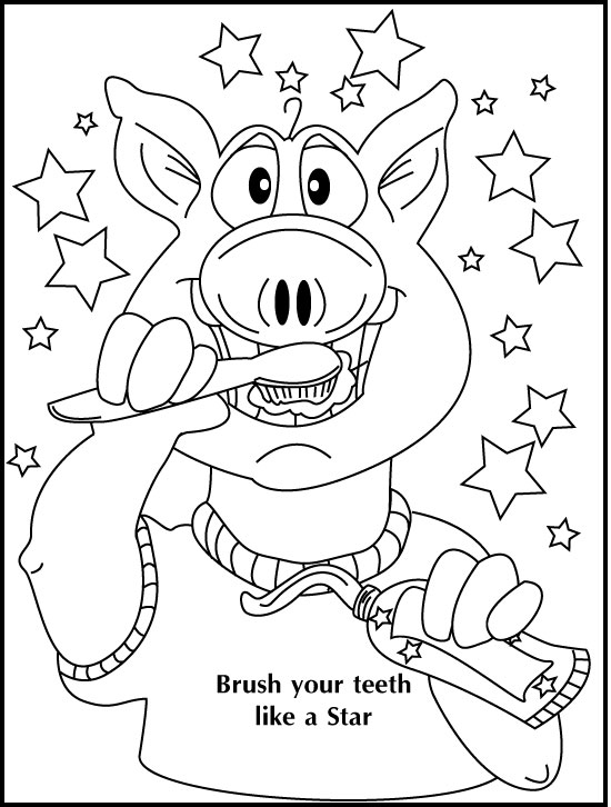 Coloring Charts Children's Dentistry Louisville KY