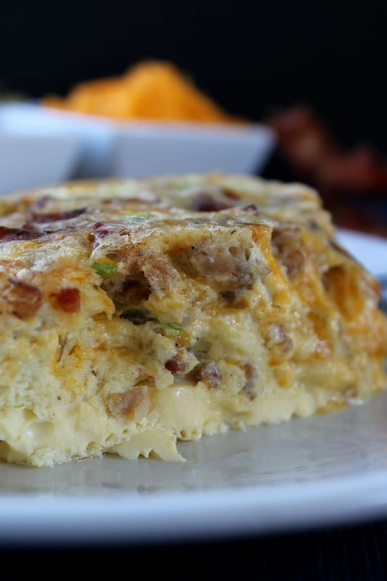 Image Result For Family Style Bacon And Egg Bake