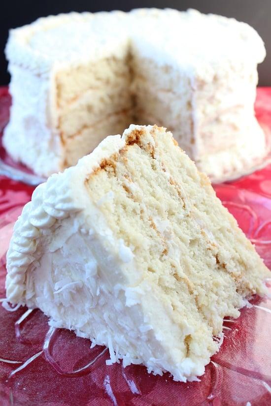 Homemade White Cake Batter