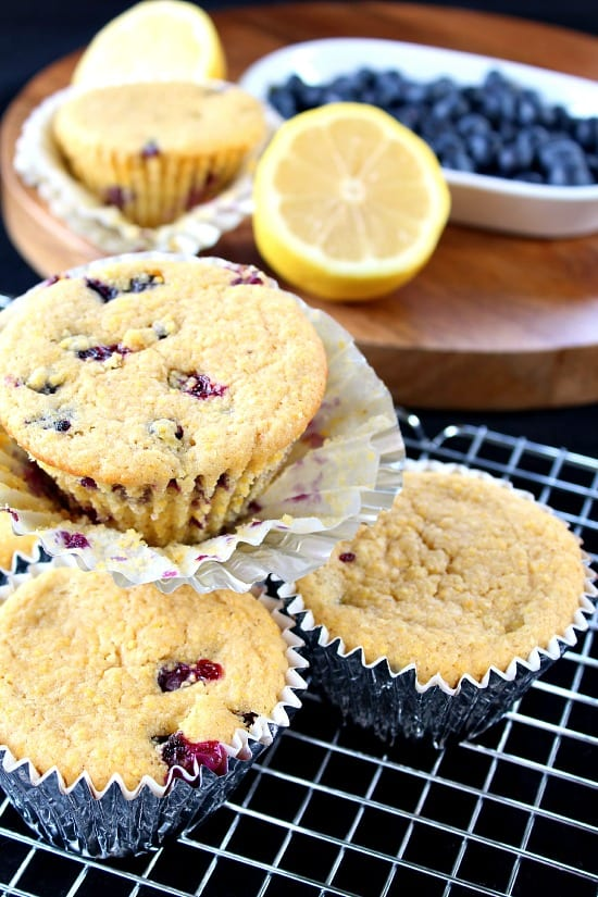 Healthy Blueberry Lemon Muffins Great Grub Delicious Treats