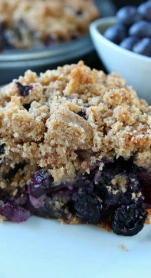 Organic Blueberry Buckle