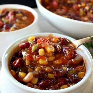 Crock Pot Spicy Vegan Chili