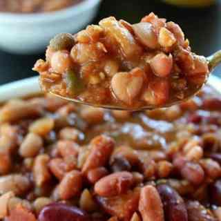 Crock Pot Multi Bean Soup