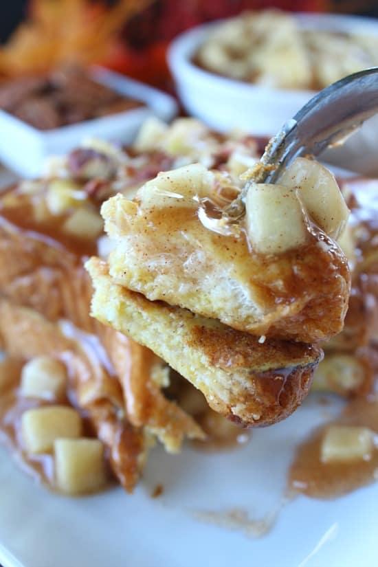 Apple Pecan French Toast