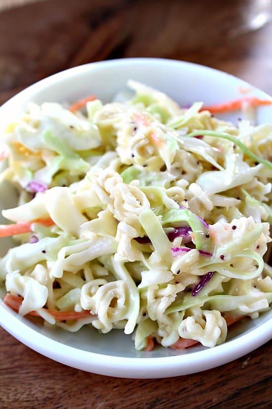 Poppy Seed Coleslaw Salad