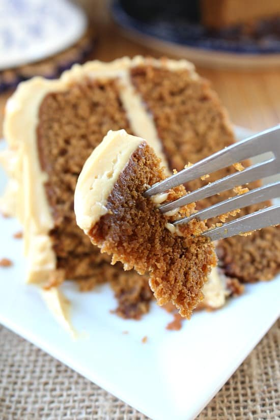 This combination of gingerbread and molasses compliment each other ...