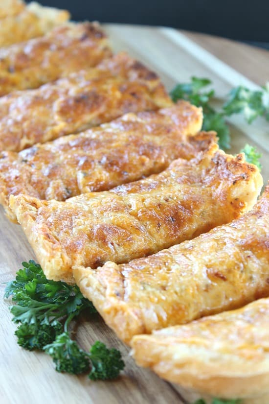Three Alarm Garlic Cheese Bread