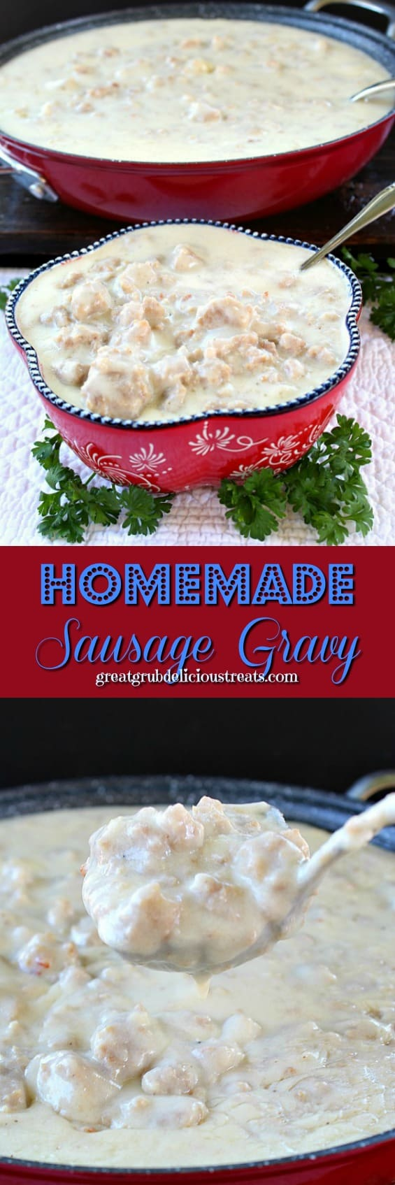 Homemade Sausage Gravy