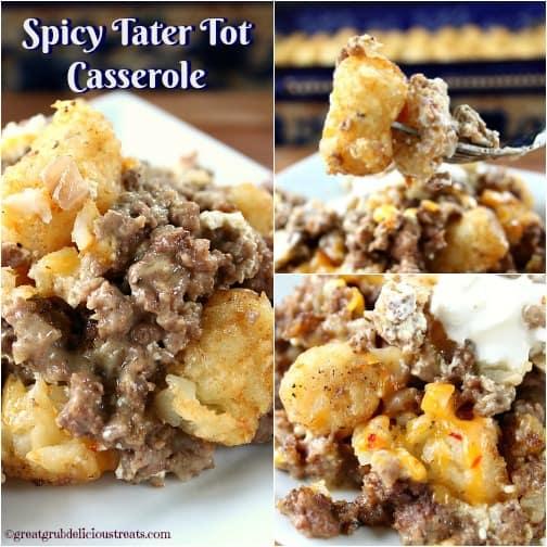 spicy tater tot casserole print author terri recipe type casserole ...