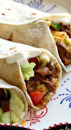 Flap Meat Burritos
