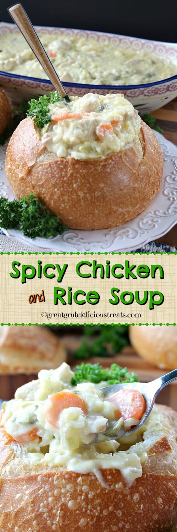 Spicy Chicken and Rice Soup