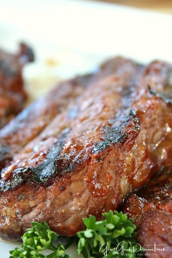 BBQ Tri Tip Steaks