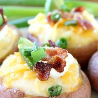 Twice Baked Red Potato Bites