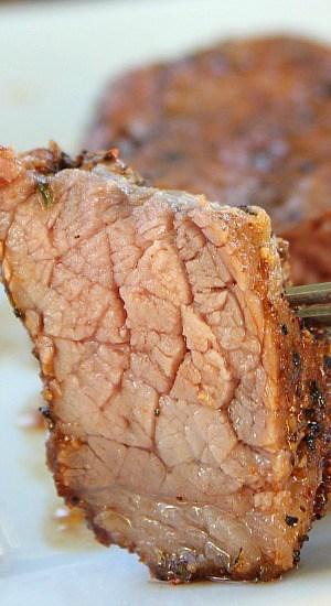 BBQ Dry Rub Tri Tip Steaks
