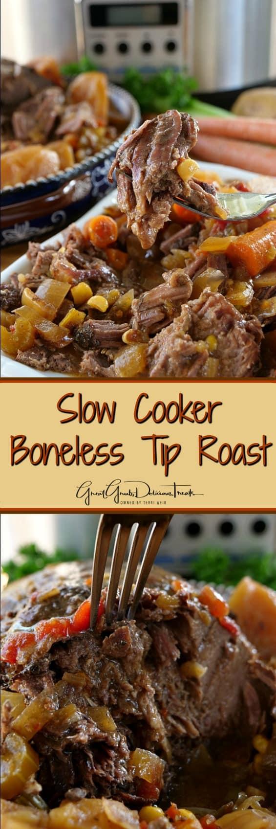 Slow Cooker Boneless Tip Roast