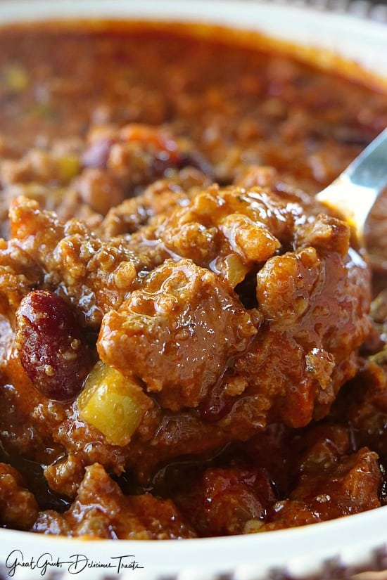 Chuck Roast Spicy Chili