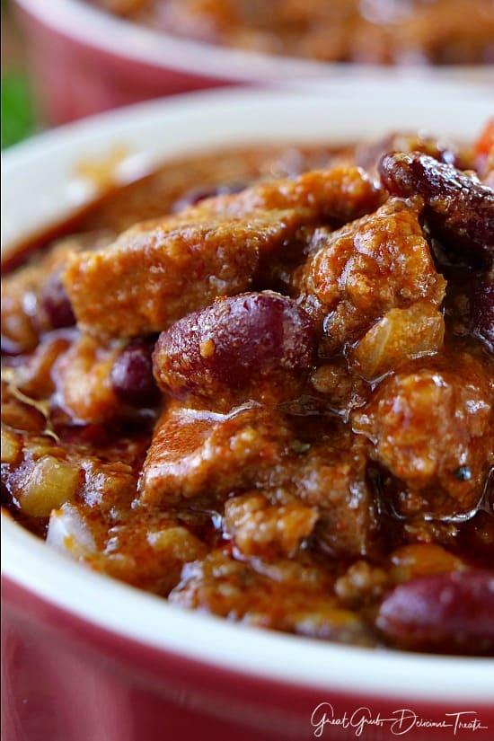 Chuck Roast Spicy Chili