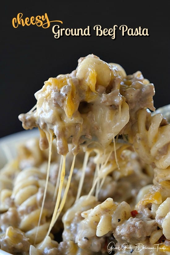 Cheesy ground beef pasta great grub delicious treats forumfinder Choice Image