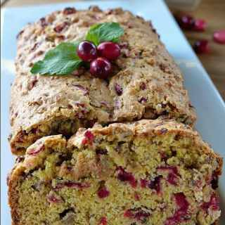 Cranberry Orange Pecan Loaf