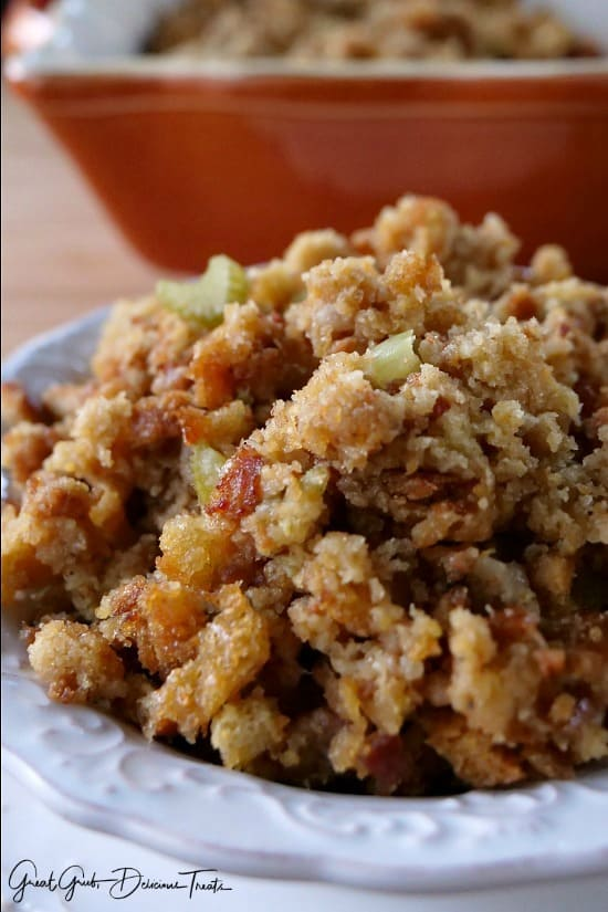 Easy Sausage Corn Bread Stuffing - Great Grub, Delicious ...