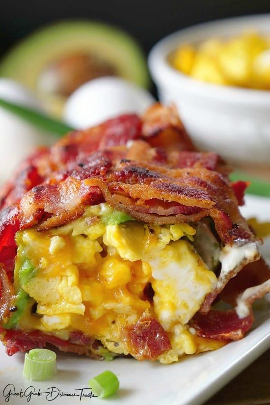 Bacon Breakfast Roll Ups