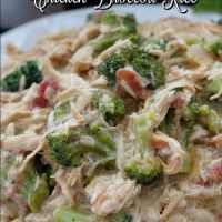 Crock Pot Chicken Broccoli Rice