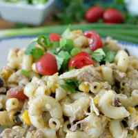 Southwest Chicken Pasta Salad