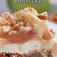 Apple Cinnamon Pretzel Salad